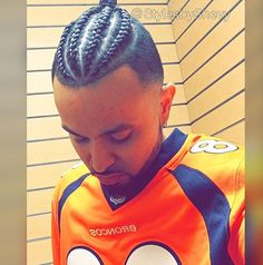 Male Hairstyles, Menu0027s Haircuts, Braided Man Bun, Bun Hair Styles, Black  Men Haircuts, Fade Haircut, Menu0027s Hairstyle, Braid Hair, Hair Goals