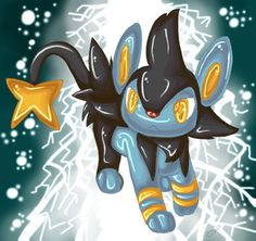 Luxio by Shineymagic on Deviantart