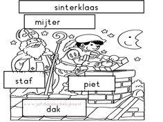 Website met thema Sinterklaas groep 1/2