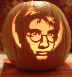 nice Top 60 Creative Pumpkin Carving Ideas for a Happy Halloween ... Accessories Harry Potter Pumpkin Carving Patterns 25 Pumpkin Carving Patterns Character Ideas └▶ └▶ http://www.pouted.com/?p=28069
