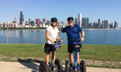 Segway Tours are super fun in Chicago