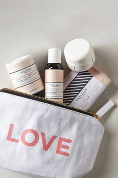 One of the sweetest (& cutest!) organic lines out there: One Love Organics Travel Kit