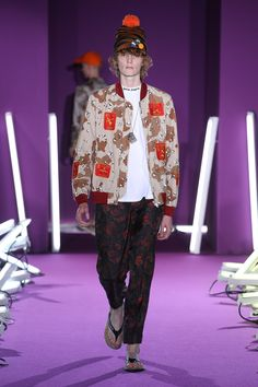 Palm Angels Spring 2017 Menswear Collection Photos - VogueMore Pins Like This At FOSTERGINGER @ Pinterest