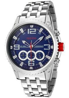 Price:$169.00 #watches Red Line 50023-33, An aura of brilliance. This Red Line timepiece glows with its irradiant charm. Its smooth design will intensify anyone's personality.