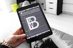 awesome app... i've been trying it out for my prints/designs • Create your own font on the iPad. By Smäm.