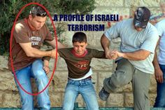 These are Israeli slodiers who wear ordinary clothes pretending to be Palestinians to catch the Palestinians kids.  Please share as much as u can to show the people the real image of Israhell.