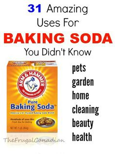 31 Amazing Uses For Baking Soda You Didn't Know
