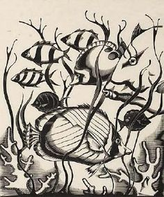 Robert Gibbings - Wood engraving