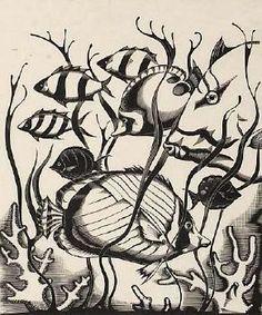Robert Gibbings - Wood engraving