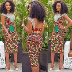 Unique style for any wax print!  Www.hydarafabricsnyc.com/collection/wax-block-print  #Hydarafabrics #africanwaxprint #africanprints #africanfashion #africanfashiontrends  Photo from @motherland_fashion.
