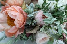 Nicolette Camille Floral Design | Summer dusty with apricot berries