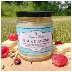 A velvety combination of blackberry & raspberry. Followed by lingering nuances of creamy vanilla & earthy vetiver. Luscious Luxury. Handmade in small batches, using a tantalizing blend of pure Ontario beeswax, organic coconut oil and high-grade fragrances (paraben-free & phthalate-free). Blackberry, Raspberry, Beeswax Candles, Paraben Free, Organic Coconut Oil, Glass Jars, Fragrances, Allergies, Earthy