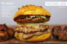 With this tuducken burger in my belly, I have much to be turfankful for... Namely crispy duck skin, a juicy seasoned turkey patty, creamy chicken liver pate, a bright brussel salad, a masterfully b...