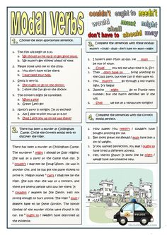 A collection of English ESL worksheets for home learning, online practice, distance learning and English classes to teach about modals, modals English Teaching Materials, Teaching English Grammar, English Grammar Worksheets, Verb Worksheets, English Idioms, English Language Learning, English Lessons, English Vocabulary, Learn English