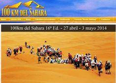 Trail running por el Sahara en 4 etapas: Los 100km del Sahara 2014. (Túnez 27ABR-3MAY) Video, programa y entrevista organización en España.