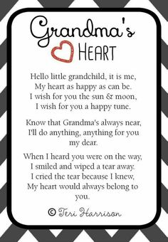 I Love You Grandma Quotes Amazing Grandmother Printable Chalk Wall Artaandlbanners On Etsy $500