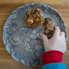 Pumpkin Apple Flax Muffins. Gluten-free rustic muffin for breakfast or snack. Photo by Laura Visioni Photography.