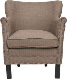 Safavieh Jayden Brown Club Chair