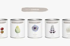 The Dieline 2015: 2nd Place Home, Garden, Pets- Paint by Conran — The Dieline - Branding & Packaging