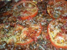 Tomato Meatza Pizza Cook Trucker use fat free cheese Primal Recipes, Low Carb Recipes, Beef Recipes, Real Food Recipes, Healthy Recipes, Paleo Ideas, Paleo Pizza, Gluten Free Pizza, Pizza Pizza