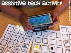 Categorizing Task Builds AAC Vocabulary by theautismhelper.com