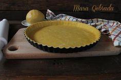 Masa quebrada th Pie Recipes, Cooking Recipes, Food Decoration, Empanadas, Pie Dish, Scones, Flan, Quiche, Bakery