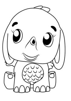 Step by Step How to Draw Puppit from Hatchimals ...