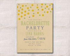 Bachelorette Party or Bridal Shower invitation