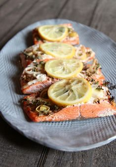 My favorite new way to cook fish.  Salmon Grilled in Cedar Papers with Whole SeedMustard.