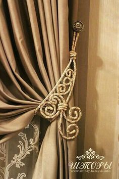 17 best images about drapes curtains swags pelmets Curtains And Draperies, Home Curtains, Window Curtains, Drapery, Valance, Curtain Styles, Curtain Designs, Curtain Tie Backs, Curtain Rods