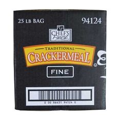 Chefs Finest Fine Grind Cracker Meal 25 Pound  1 each -- More info could be found at the image url.(This is an Amazon affiliate link and I receive a commission for the sales)