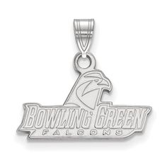 Shop The Best Selection Of 10K White Gold Bowling Green State University Falcons Small Pendant Buying Pendants Is Easy Because Of Our Great Selection.
