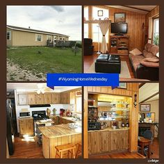 Western lodge appeal and marvelous views are just a few appealing qualities for this well cared for #WyomingHomeWednesday home.Open floor plan for family fun. Two car garage with workshop and aone car metal garage for that special car. Why postpone happiness... welcome home!