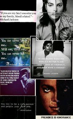 Michael Jackson Quotes Collage