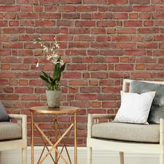 Newmor Bricks wallcovering