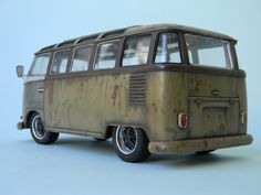 VW TYPE 2 MICRO BUS 1963 23 WINDOW-HASEGAWA 1/24by Veli Vahap Saltık