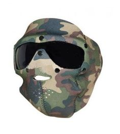 Masca Neopren Pentru Protectie Fata Swiss Eye - Woodland