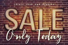 Light Bulbs Lettering | Deeezy - Freebies with Extended License
