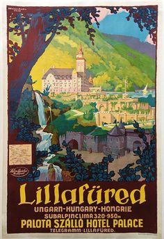 Lillafüred Hotel Palace (Hollós, Endre - 1930 - cca. 63 x 95 cm)