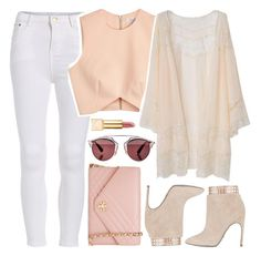 """""""❁"""" by brenndha ❤ liked on Polyvore featuring Finders Keepers, Sergio Rossi, Tory Burch and Christian Dior"""
