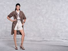 Escada Spring 2011 Campaign | Isabeli Fontana by Peter Lindbergh