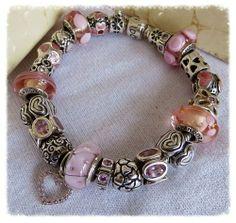 Black Beauty Starter Bracelet By Pandora Jewelry  #jewelry #fashion #Womens