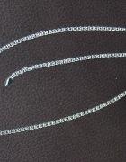 Piękny łańcuszek srebrny pr 925 oraz bransoletka