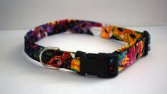 Masquerade Mask Dog Collar // Handmade & by PawesomePups on Etsy