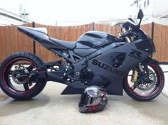 Blackout Suzuki GSX-R 1000  #RePin by AT Social Media Marketing - Pinterest Marketing Specialists ATSocialMedia.co.uk