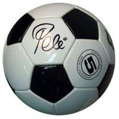 Pele signed football