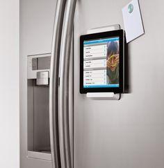 Tu Organizas.: Pendure o iPad na cozinha