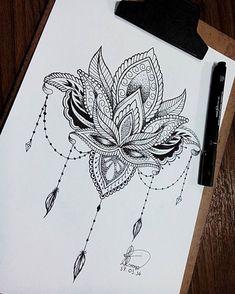 Projeto tattoo mandala ✒😊 #mandala  #draw #drawing #drawings  #nanquinho #canson #lotus #flor #flordelotus #love #canetananquim #caneta #fabercastell  #black #preto #traços #beautiful  #amo #projetotattoo  #tattooist #tattooed #tattooing #instadraw #instattoo #instattooed #instadrawing #instadrawings #desenho #desenhando #desenhos