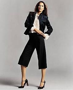 capri w/jacket and heels