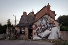 MTO - Street Art - Ritratti in scala di grigio ! More @ http://www.collater.al/arts/mto-street-art/